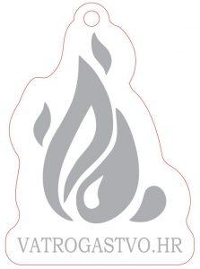 """Privjesak za ključeve s logotipom portala """"vatrogastvo.hr"""""""