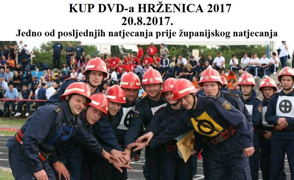 """NAJAVA: """"Kup DVD-a Hrženica 2017"""" – tradicionalno natjecanje u organizaciji najstarijeg vatrogasnog društva na selu u Europi"""