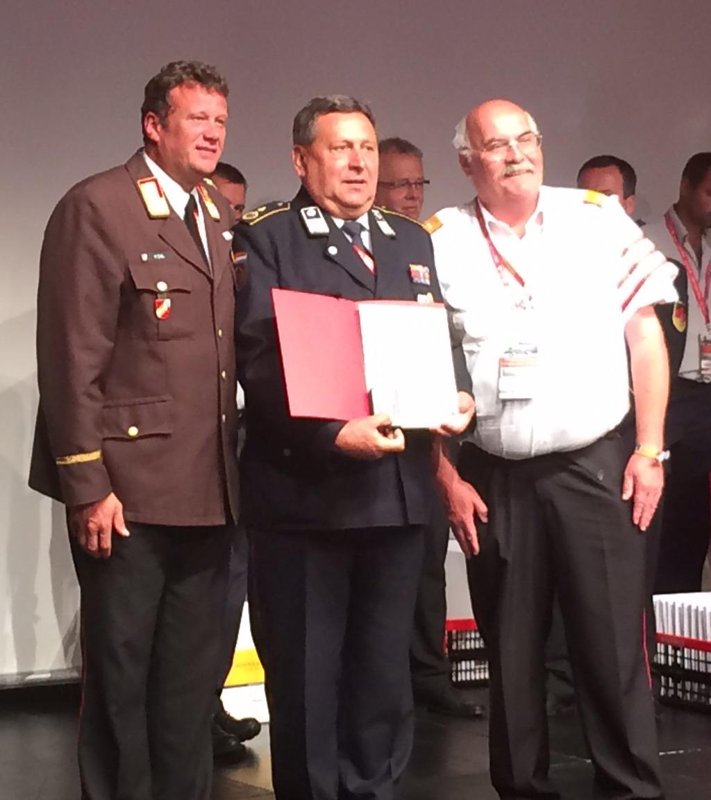 Zlatku Orsagu uručena medalja na vatrogasnoj olimpijadi