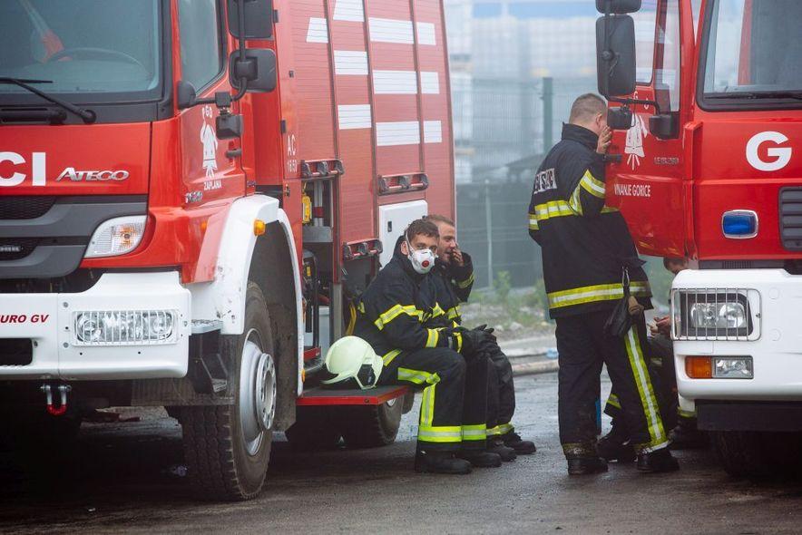 Požar u Kemisu pokazao je kako bi se trebalo bolje skrbiti o zdravlju dobrovoljnih vatrogasaca