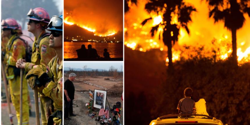 (FOTO) Broj će samo rasti: Više od 100 velikih šumskih požara plamti u SAD-u