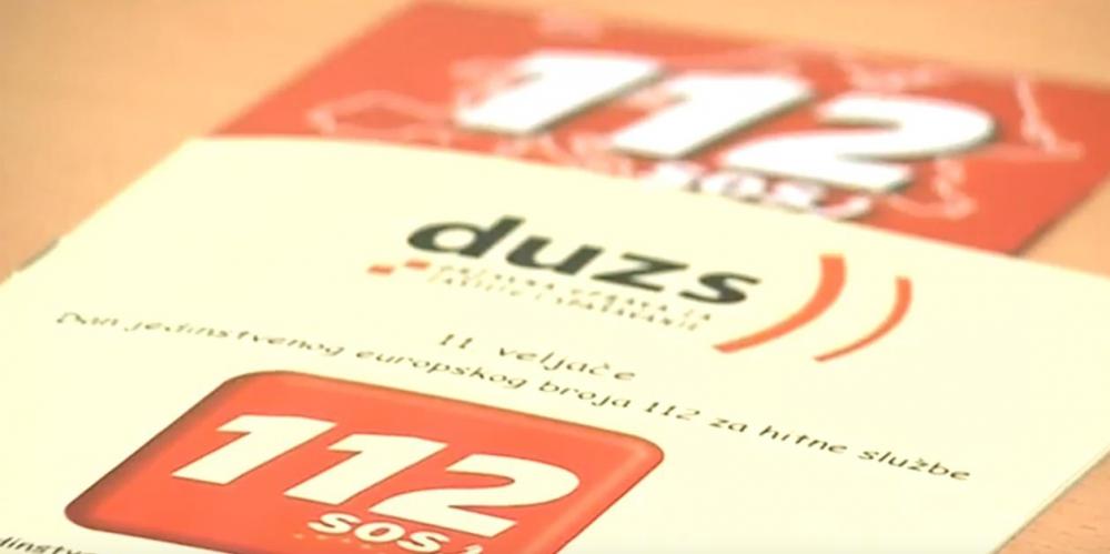 Tri četvrtine građana za žurne pozive koristi broj 112